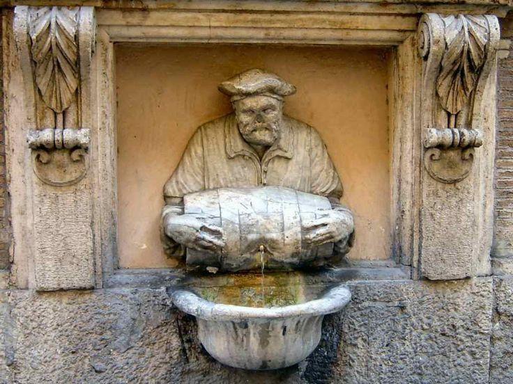 Roma - La Fontana del Facchino