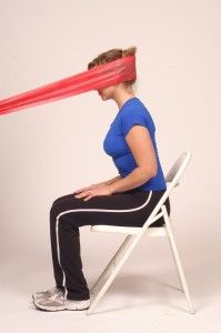 It looks silly but it really helps with neck pain and strength