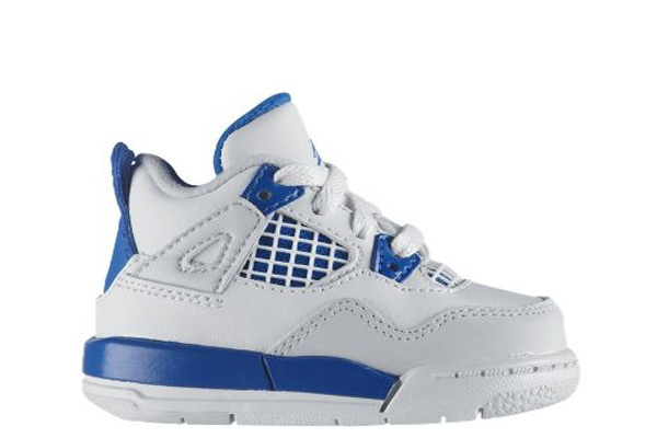 Military Blue 4s Baby Jordan Sneakers Pinterest