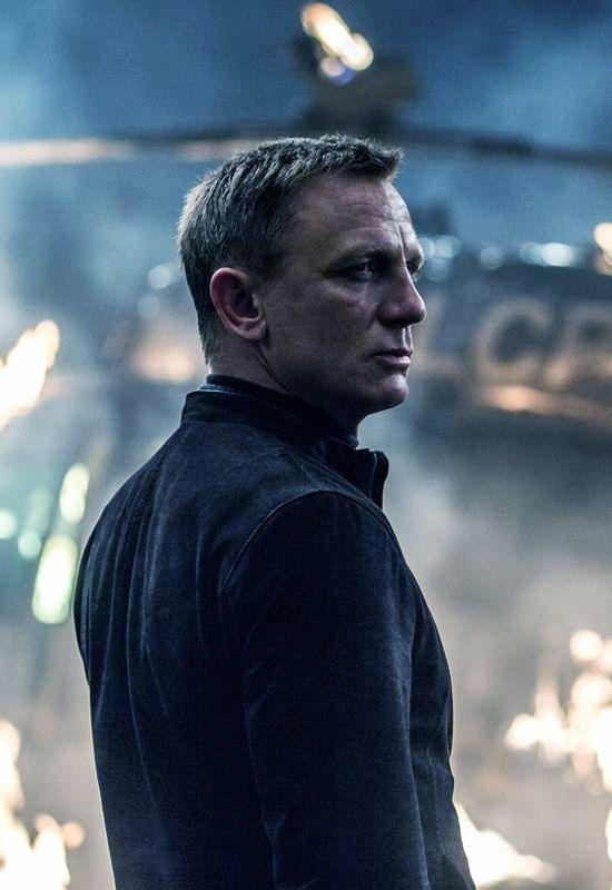 "Daniel Craig as James Bond, in ""Spectre."""