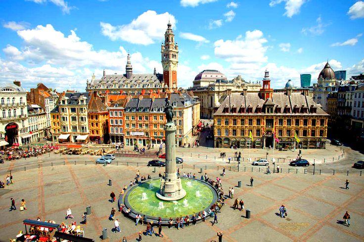 Grand-place - Lille http://www.tourisme.fr/1184/office-de-tourisme-lille.htm