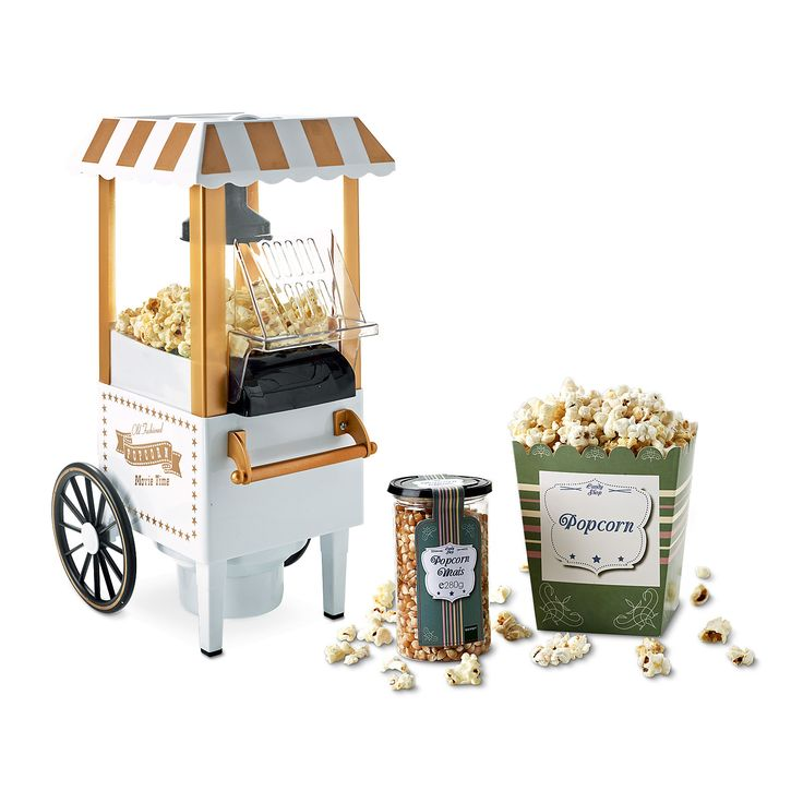 anleitung popcornmaschine