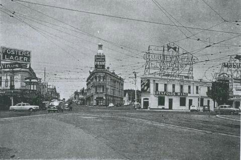 St kilda junction 1950s