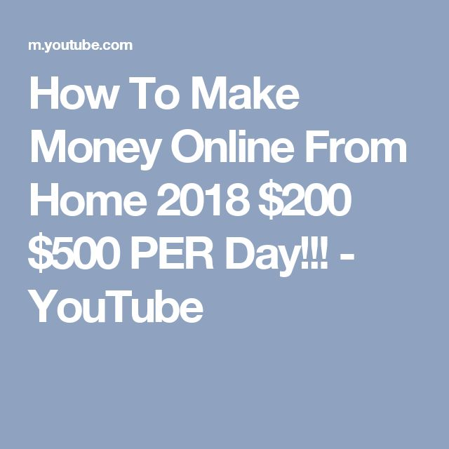 Why Not Use YouTube as the First Online Money Option?