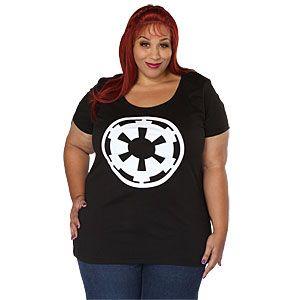 ThinkGeek :: Imperial Logo Ladies' Plus Size Tee