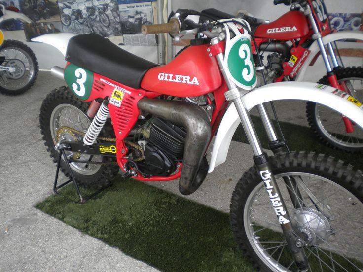 Randy Muñoz Gilera 250 cc. 1981