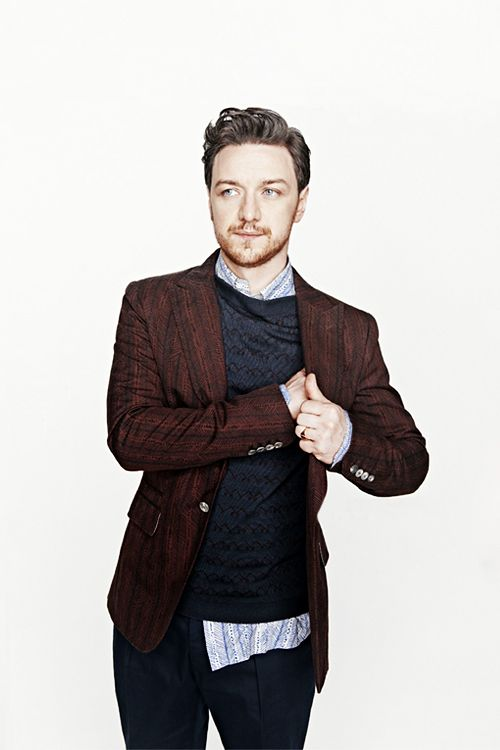 James McAvoy. (Found on bbodysnatchers.tumblr.com)