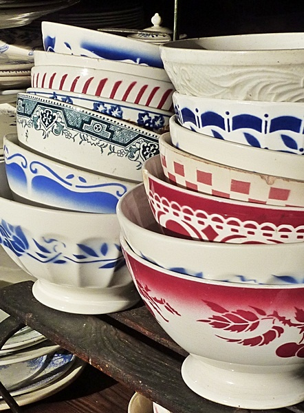 A collection of Moroccan bowls.