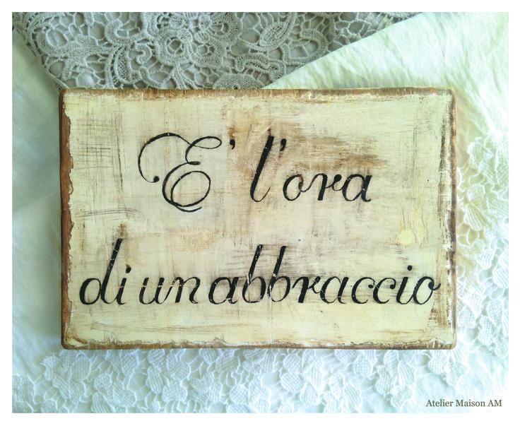 Quadri in legno con scritte personalizzate!