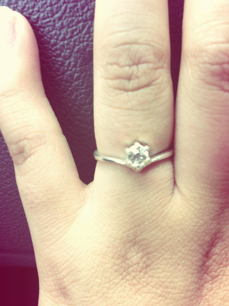 My pretty & simple promise ring ❤