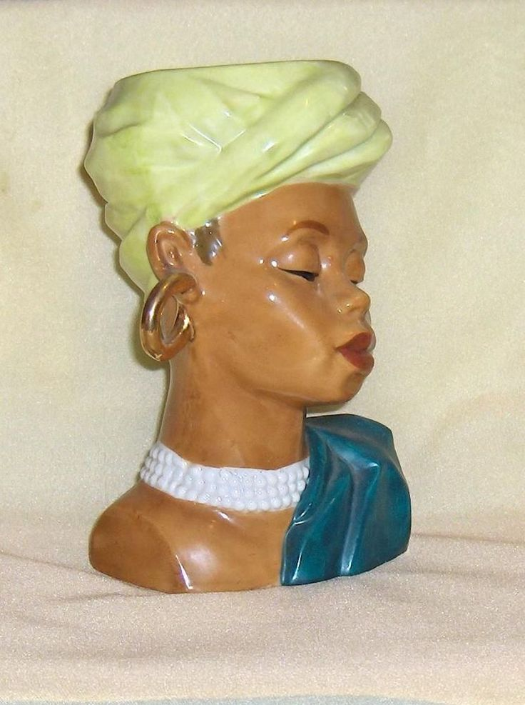 Vintage  Headvase Lovely Lady Head Vase