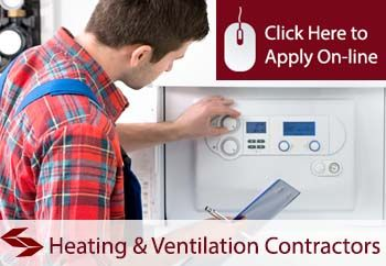 self employed heating and ventilation contractors liability insurance