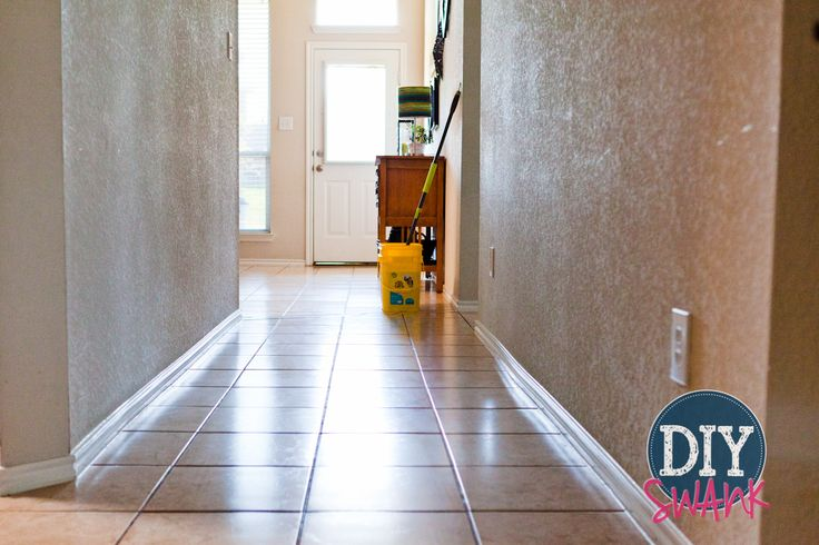 how to clean porcelain tiles streak free