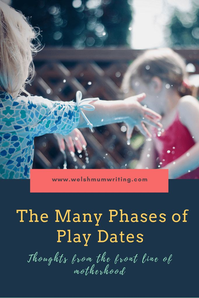 The many phases of play dates. How things change from baby to toddler stage.
