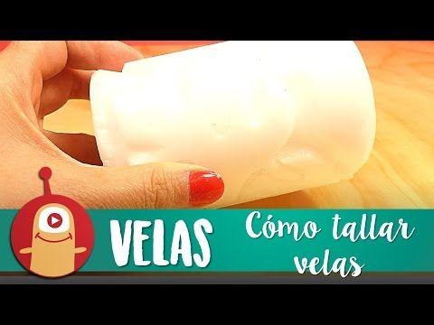 Cómo tallar velas - LOS MARCIANOS LLEGARON - YouTube