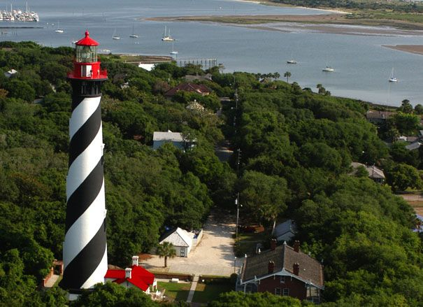 St. Augustine Lighthouse, Florida -- The 20 Most Haunted Places in the U.S. and U.K.