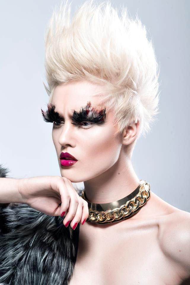 Fashion Makeup Awards 2014 - Winner :D Photography by Grzegorz Szafruga MUA & Hair: Martyna Molenda Model: Sylwia Sordyl