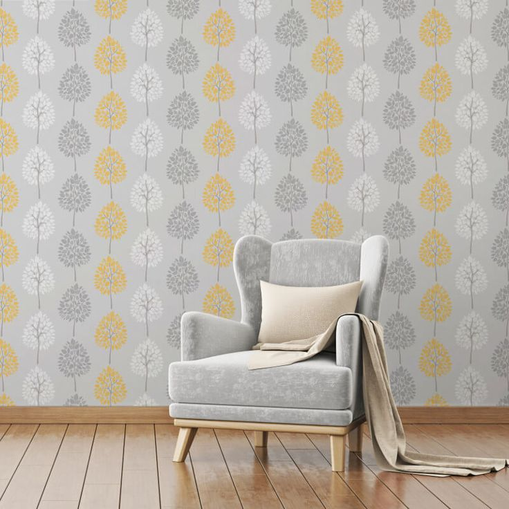 A colourful shimmering wallpaper with a fun tree design from Fine Decor. The Riva Wallpaper Collection is available at Go Wallpaper UK.