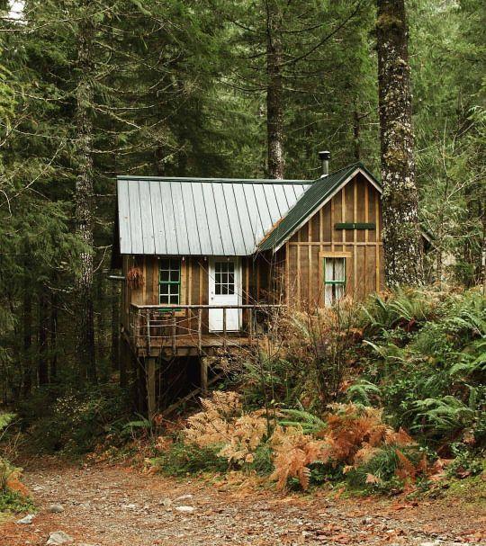 654 Best Cabin Hideaways Images On Pinterest Log Cabins