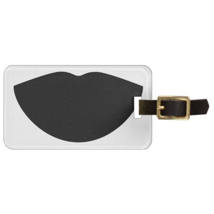 Black Lips Mike Gordon Phish Luggage Tag - lip gifts unique lips style cyo personalize