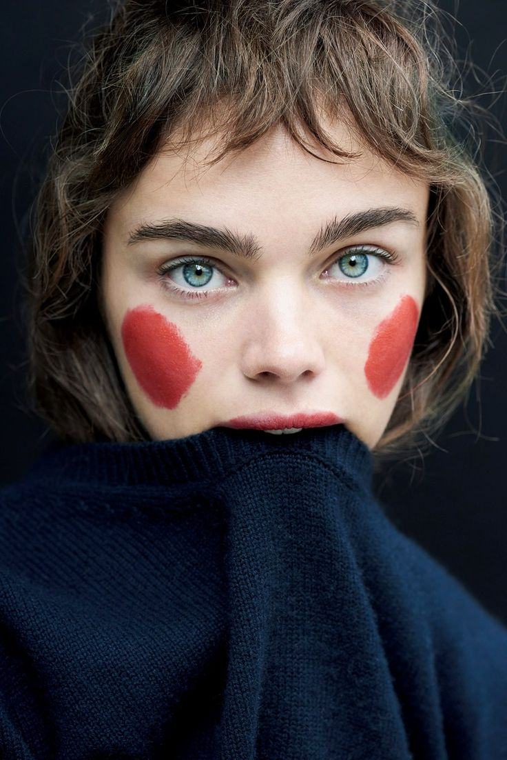 "Jena Goldsack by Liz Collins for Mixte Magazine ""Funny Face"" 2016"