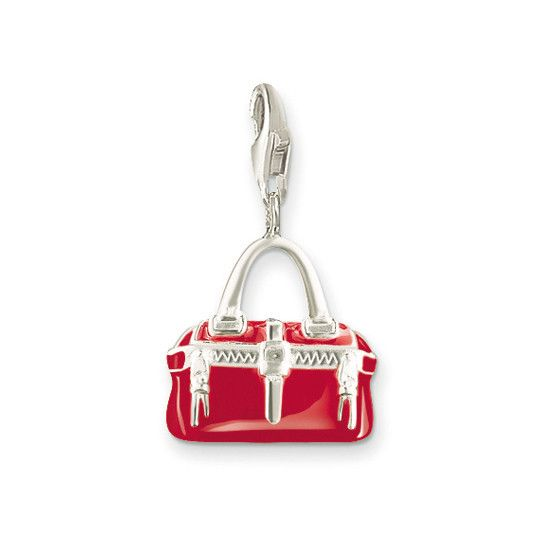 Thomas Sabo Charm Club - 0479 - Rode Handtas  Description: Thomas Sabo Charm Club - 0479 - Rode Handtas  Price: 27.00  Meer informatie