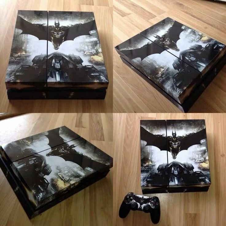 Ps4 Batman Arkham Knight Skin Cover Video Games