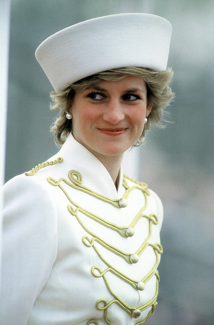 Diana ... In Marching Band/Military jacket, and oversized sailor cap style