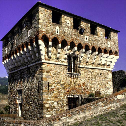 """Il """"Maschio"""" della Fortezza Castracani a Sarzana.  Fortress Castracani in #Sarzana.  #Liguria #FotoLiguria  Foto ©: http://ow.ly/Byn2r via Panoramio"""