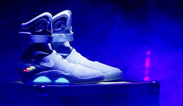 Nike vend les baskets de Retour vers le futur II sur eBay - L'Express Styles