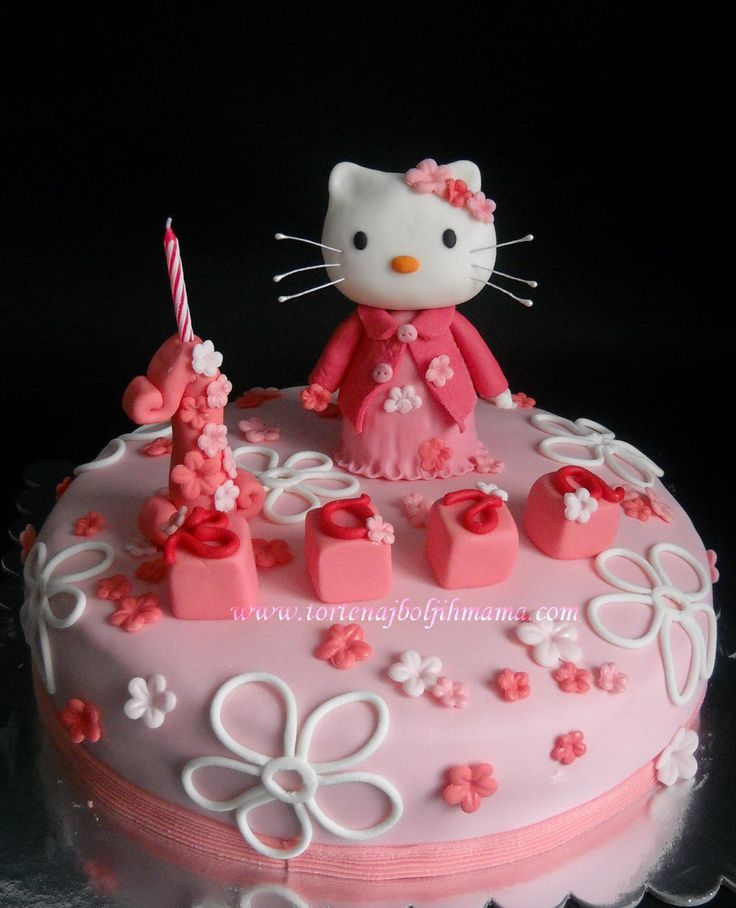 Hello Kitty Decije Torte Decije Torte Pinterest