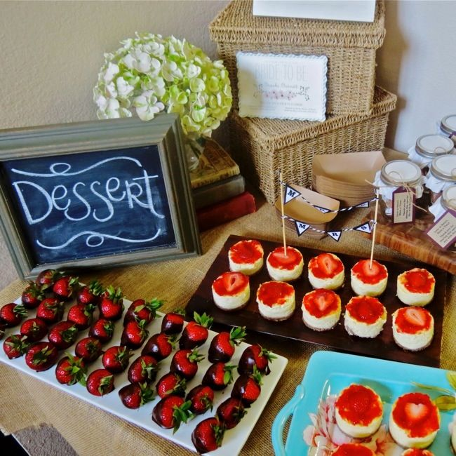 A Low Carb Sugar Free Dessert Table. Easy To Prepared