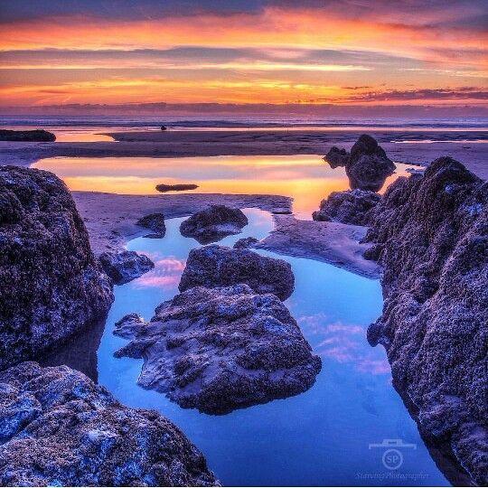 Rockaway Beach, Oregon Coast sunset