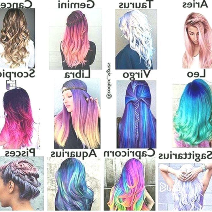 Ich Wurde Meine Tragen Zodiac Sign Fashion Hairstyle Zodiac