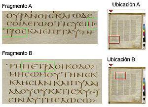 Simón Pedro - Wikipedia, la enciclopedia libre     Fragmentos del Codex Sinaiticus de Mateo 16:18