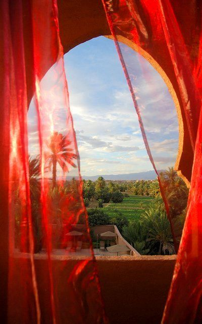 A Room with a View - Riad Dar Chamaa -Ouarzazate, Morocco | Flickr - Maroc Désert Expérience tours http://www.marocdesertexperience.com