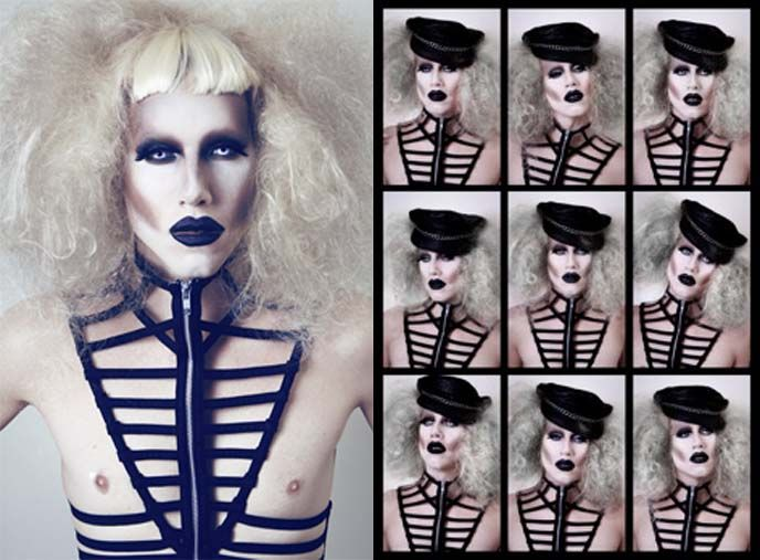 A GOTH drag queen??  Life is made.