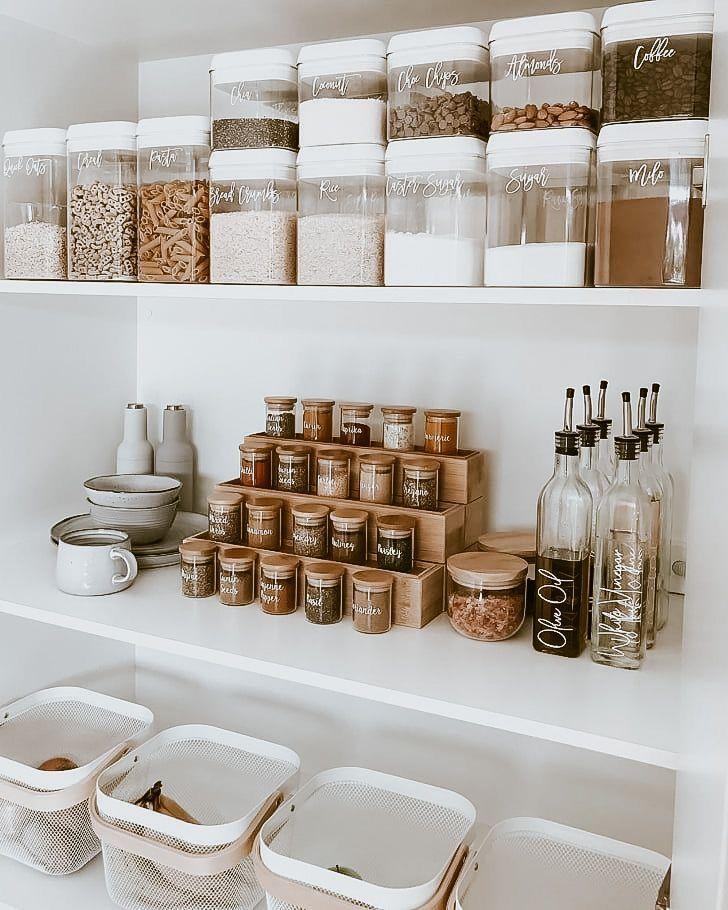Kitchen Pantry Organization Ideas In 2020 Kitchen Organization Diy Small Kitchen Organization Kitchen Organization