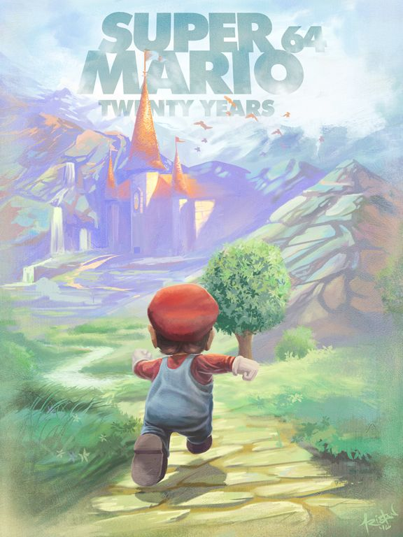 Super Mario 64 - Created by Tristan Thompson