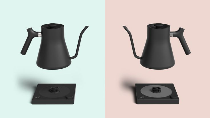 Bluetooth connectivity, iPad integration, and variable temperature control, combine with minimalist design for the purpose of the perfect pour over coffee.