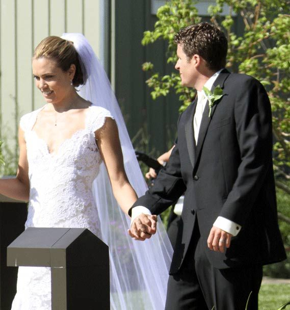 Natalie Coughlin & Ethan Hall wedding | Weddings Celebrity ...