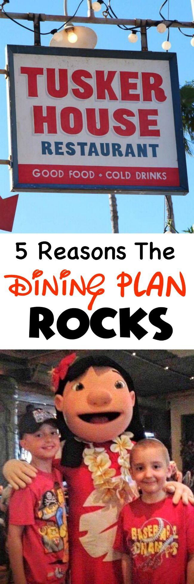 Five things that will help you decide if the Disney Dining Plan is right for you.