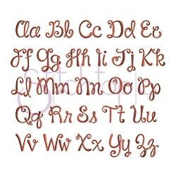"""Harper Monogram Set - 1"""", 2"""", 3"""" 