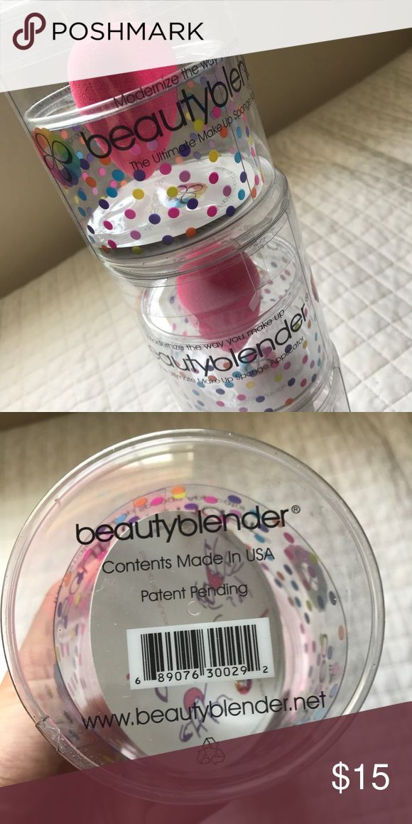Original Beauty Blender Original Beauty Blender  Condition: Brand new, never used Color: pink Sephora Makeup Brushes & Tools