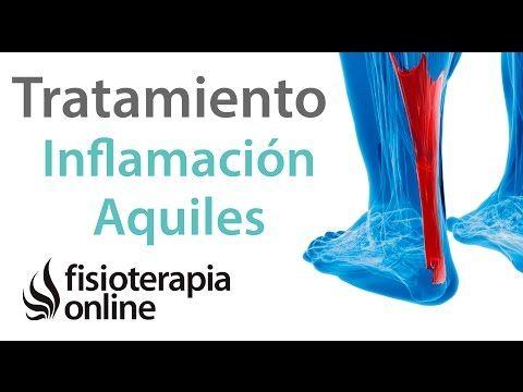 Tratamiento para la tendinitis de Aquiles o inflamación del tendón de Aquiles - YouTube