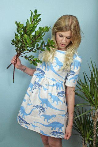 Dinosaur Dress - Vintage Style Me