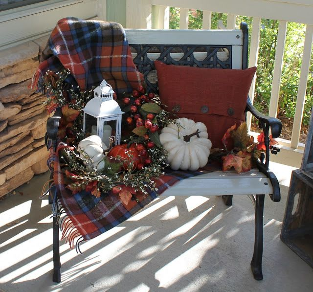 49 Best Images About Bench Decorating On Pinterest Fall