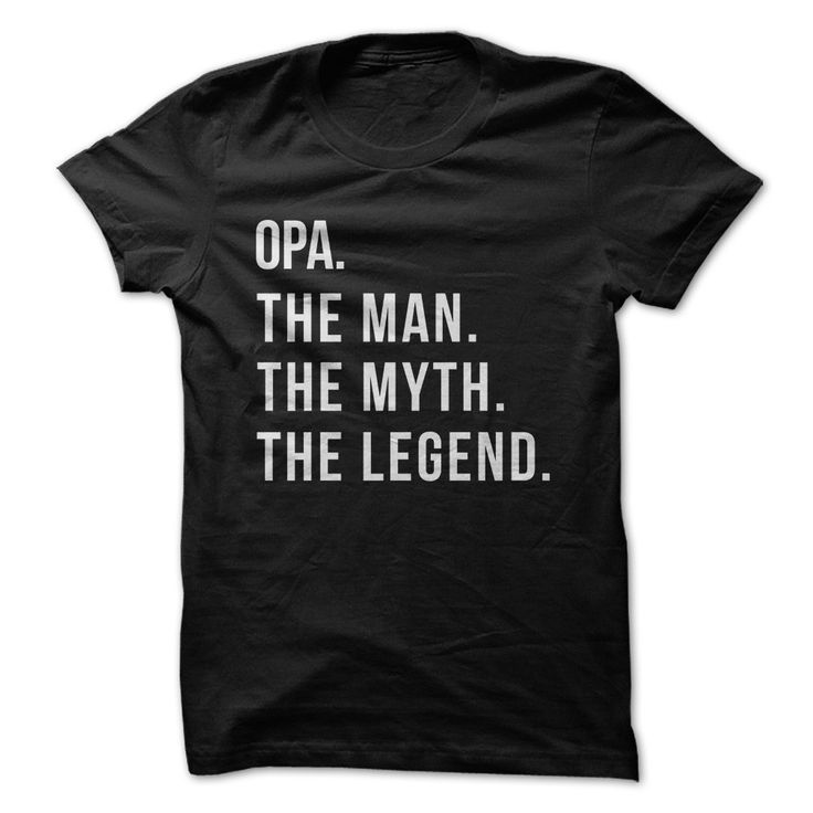 Opa. The Man. The Myth. The Legend.