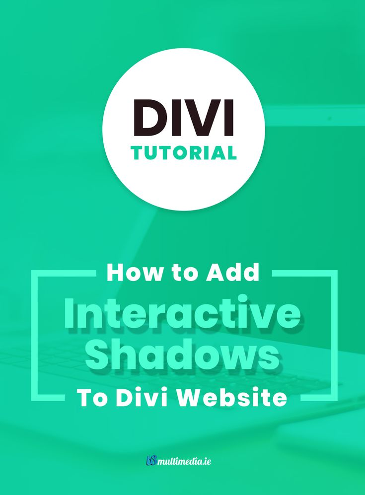 Enter Shine.js, a fun #Javascript library that is easy to use with your #Divi site and can inject some life into your website. With Shine.js, you can make dynamic, 3 dimensional #shadows that respond to your mouse cursor, kind of like how a real shadow would with a lamp. Plus, using some custom code I will be sharing with you, it can even respond to gyroscopes!