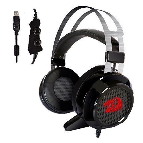 Gaming Headset Over Ear Headphones with Mic Individual Vibration Noise Canceling #GamingHeadsetOverEarHeadphones